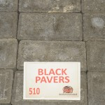 Black Pavers +25 Dimension: + 200X100X50mm