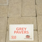 Grey Pavers  +25 Dimension: + 200X100X50mm